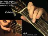 Титаник на гитаре ( видео урок )